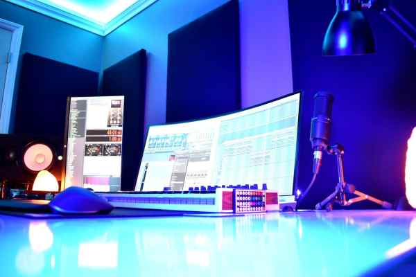 The Recording Studio Setup
