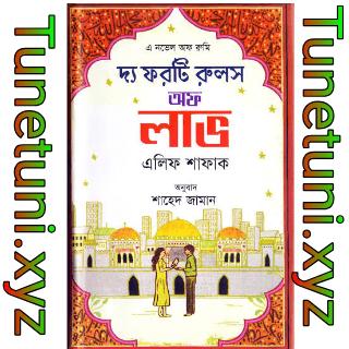 দ্য ফরটি রুলস অফ লাভ pdf book-the forty rules of love pdf bangla