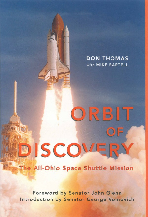 Don Thomas launches book about woodpecker space shuttle