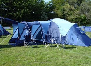 A Tent in a Field