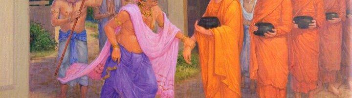 Đức Phật tế độ vua Tịnh Phạn