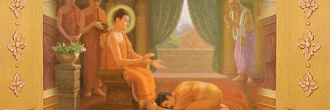 Đức Phật và Công Chúa Yasodhara (Da Du Đà La)