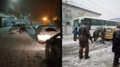 Photo of تساقط الثلوج و امطار رعدية بداية من الليلة ..