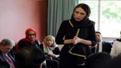 Photo of رئيسة وزراء نيوزيلندا تتحجب إحتراما لضحايا المسجدين