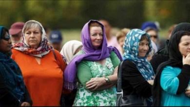 Photo of نساء نيوزيلندا يرتدين الحجاب تضامنا مع واقعة المسجدين
