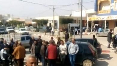 Photo of عاجل: إحتجاجات في الرقاب بسبب الزيادات المتتالية في أسعار المحروقات