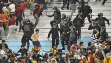 Photo of احداث عنف بين مجموعات الترجي في شوارع قسنطينة