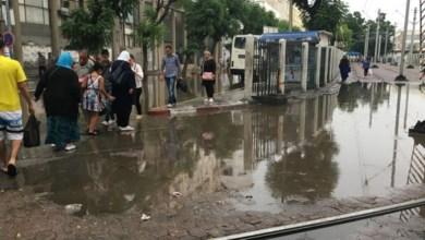 Photo of العاصمة: تعطل حركة المرور بسبب الأمطار