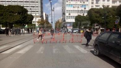 Photo of غلق شارع الحبيب بورقيبة وأنهج متفرعة عنه (صور)