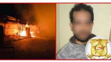 Photo of خانته زوجته مع أحد الباعة.. فأضرم النار في سوق الأثاث بالملّاسين !