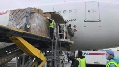 Photo of طائرتان للخطوط التونسية تغادران الصين محمّلتين بمساعدات طبية (صور)