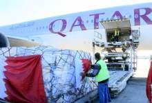 Photo of وصول شحنة من المساعدات الطبية من دولة قطر