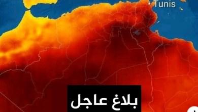 Photo of بلاغ عاجل/ غدا و الأربعاء : موجة حر شديدة ودرجة الحرارة تتجاوز 40 درجة في 8 ولايات