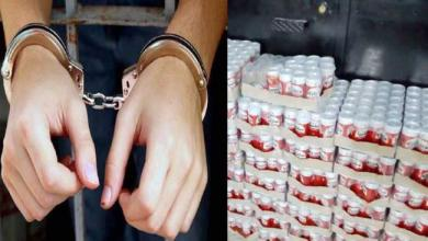 Photo of القيروان: حجز شاحنتين محملتين بالمشروبات الكحولية جاهزة للترويج في العيد