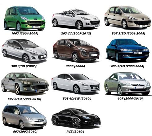 Camera marsarier Peugeot 207, 307, 308, 407, 508, 807
