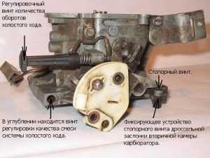Схема и принцип работы карбюратора солекс – Схема и ...
