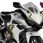 Puig Side Spoiler Downforce Honda Cbr500r 19 Black Ebay