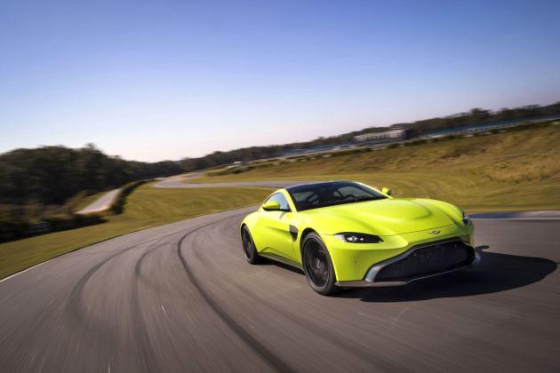 Aston Martin VantageLime Essence02 jpg
