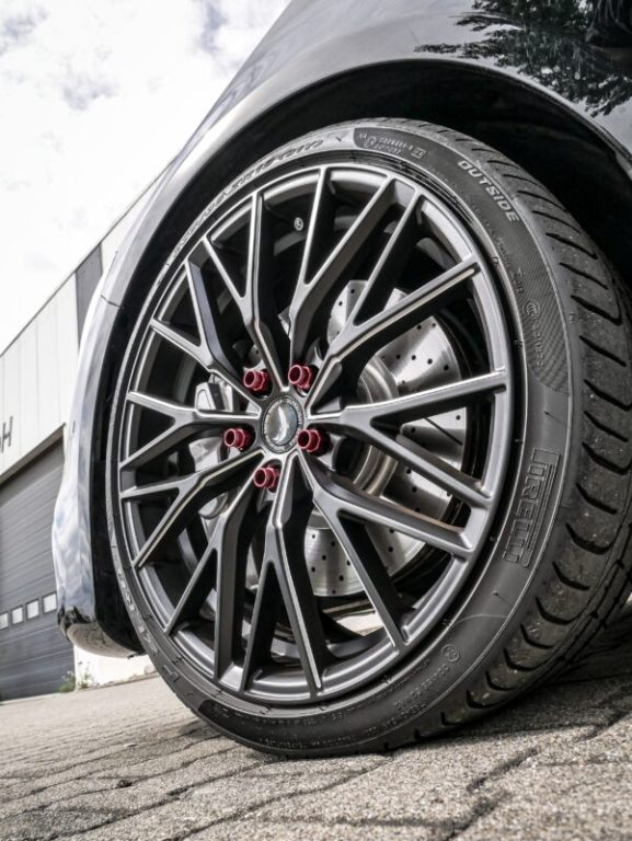 CLA 45 mit Barracuda Racing Wheels Project 3 5