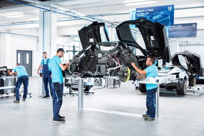 Rimac C Two Prototype Assembly Line 5