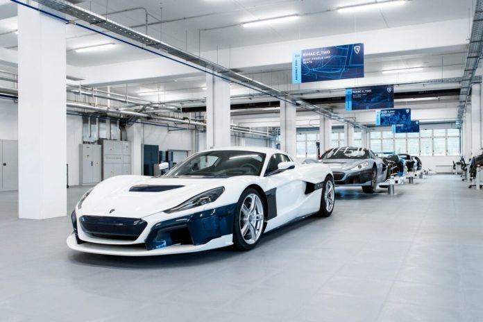 Rimac C Two Prototype Assembly Line 9