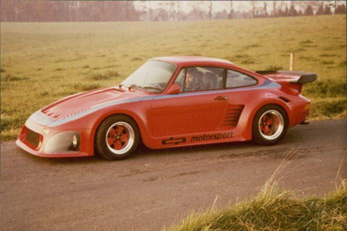 80 Jahre Ekkehard Zimmermann dp Motorsport 1983 Porsche 935 dp II Strassenausfuehrung