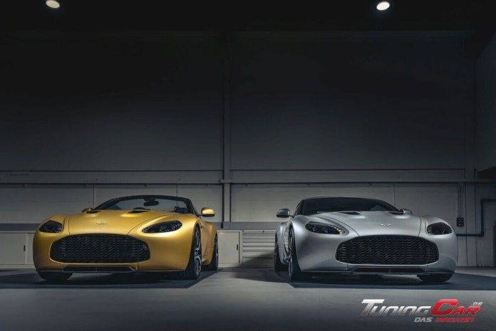 Aston Martin Vantage V12 Zagato Heritage TWINS by R Reforged 2 front