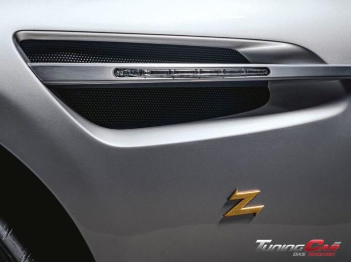 Aston Martin Vantage V12 Zagato Heritage TWINS by R Reforged Zagato badge