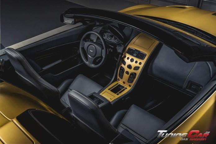 Aston Martin Vantage V12 Zagato Heritage TWINS by R Reforged interior