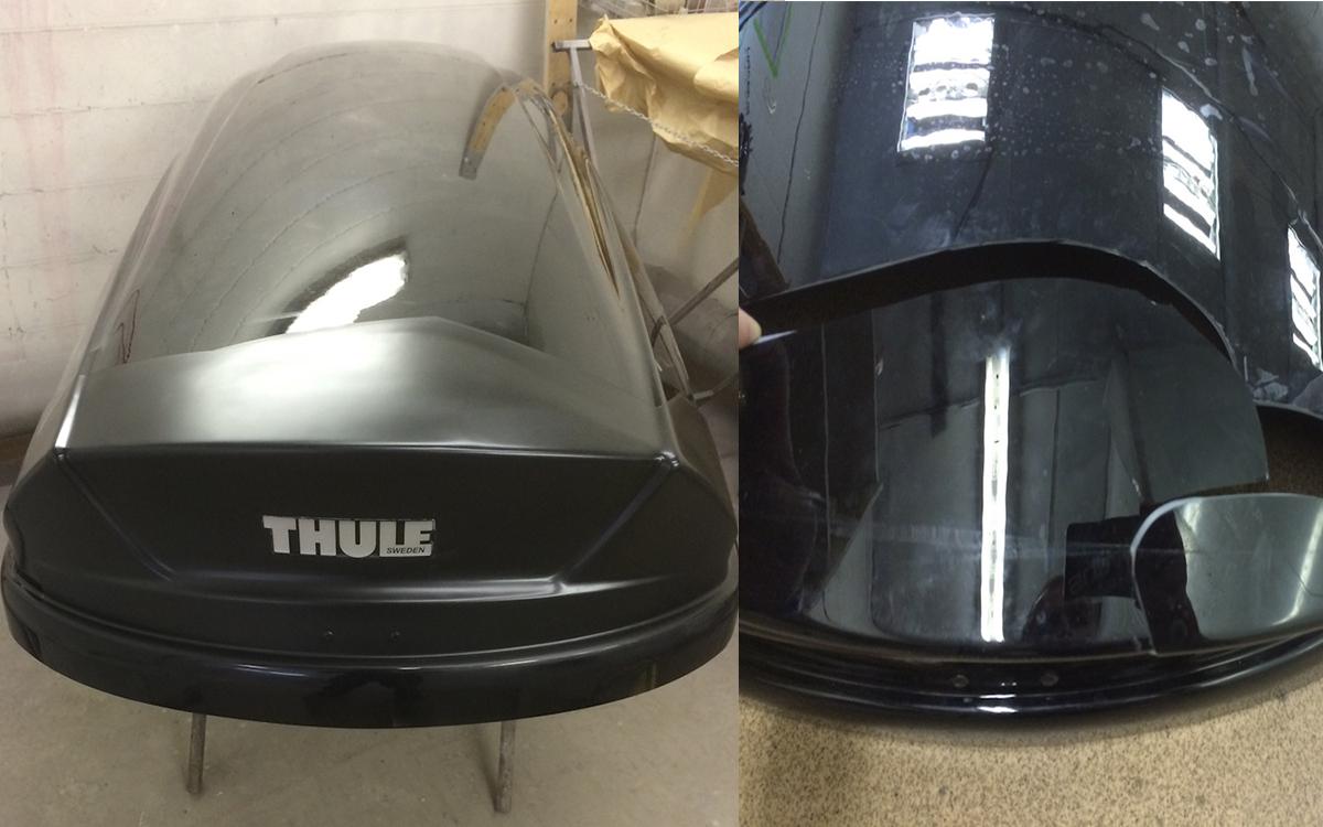 Ремонт автомобильного бокса THULE