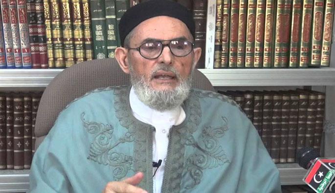 الشيخ العلامة مفتي ليبيا الصادق بن عبد الرحمن الغرياني