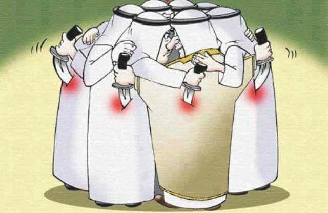 انتحار جماعي لحكام الخليج