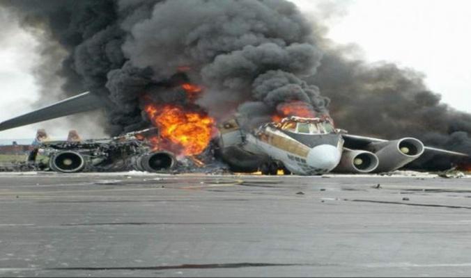 تحطم طائرة عسكرية جزائرية