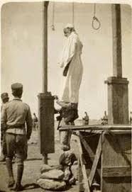 صورة حقيقية لعمر المختار بعد إعدامه