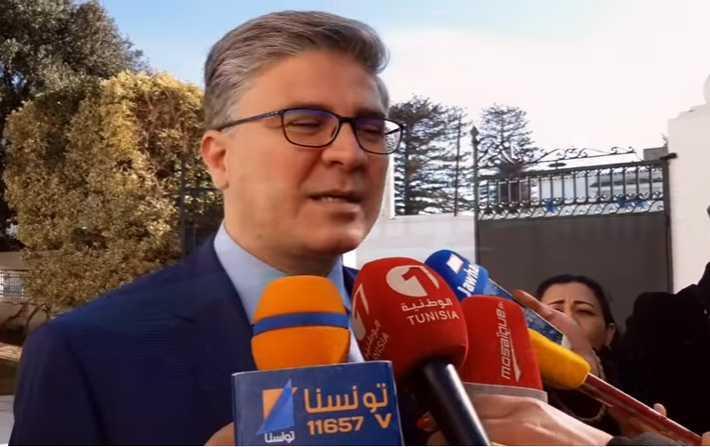 وزيرالسياحة التونسي محمد علي التومي