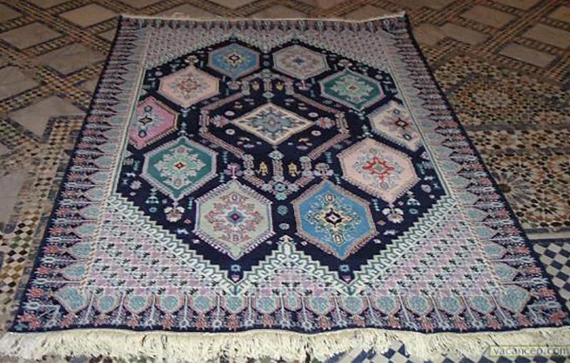 en photos le tapis de kairouan une