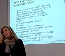 Anita Salamonsen, NAFKAM