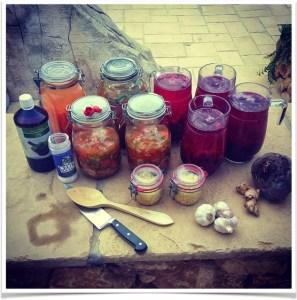 Bilde fra fermenteringskurset jeg hadde