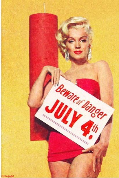 4. juli - her med MM