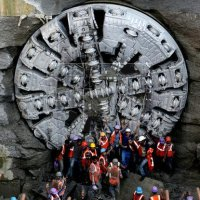 Krishna TBM picks pace on North-South corridor