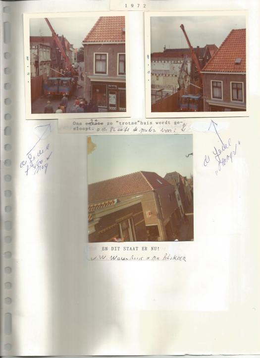 Trap onder Wijnhuis Hoogstraat 51 naar twee gewelven