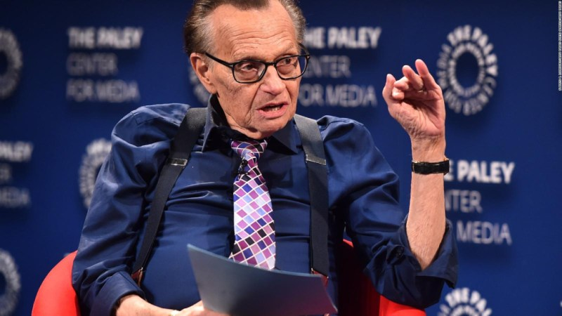 Conoce la extraordinaria carrera de Larry King