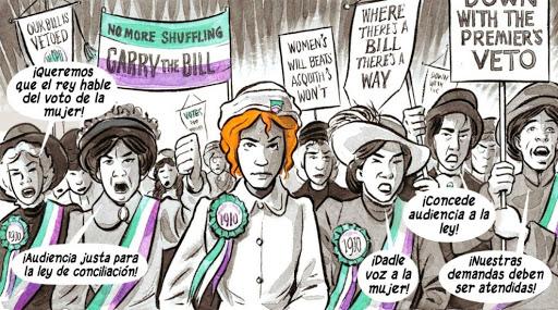 La violencia de género como tema central