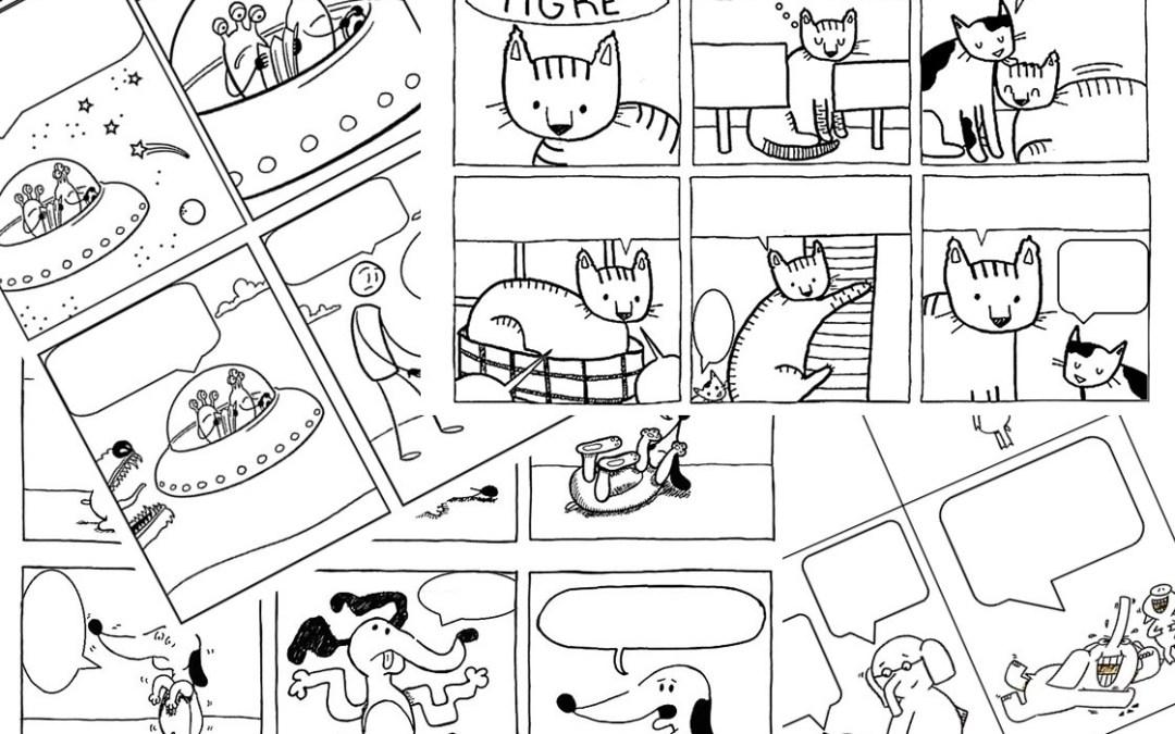 Claves para escribir un comic e historietas