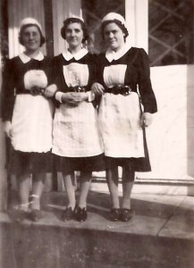 Kitchen Maids at Sloley Hall