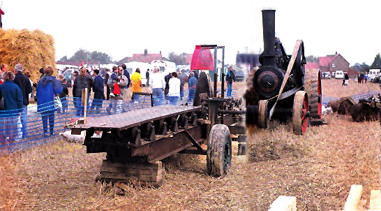Foster Traction Engine at Tunstead Trosh, 1999