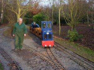 Ashmanhaught Light Railway - Putting the train back in service