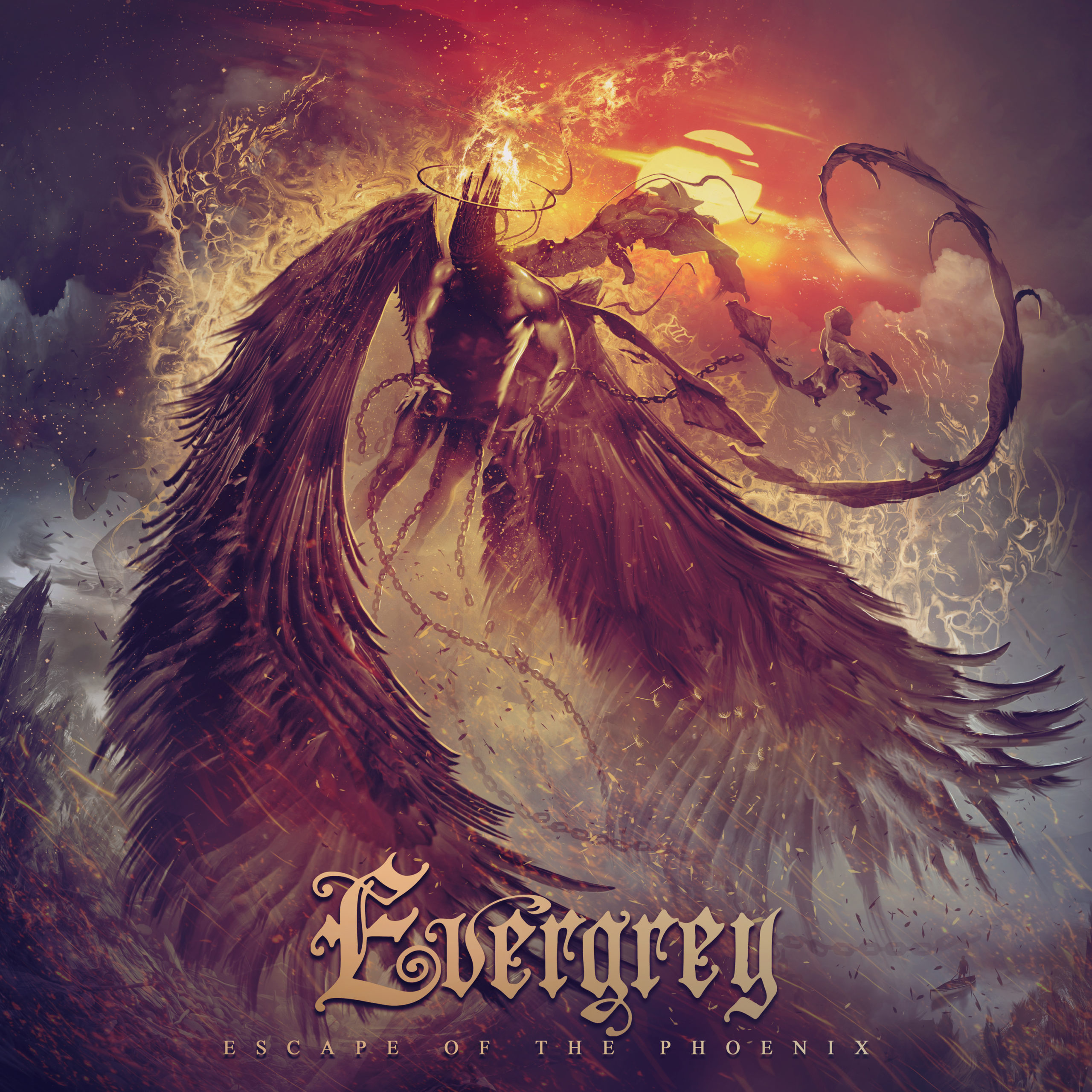REVIEW: Evergrey – Escape of the Phoenix