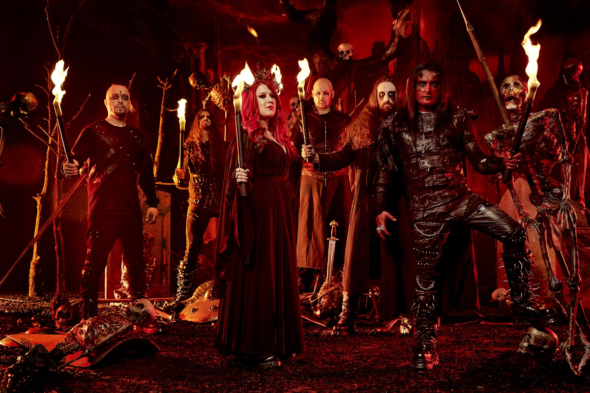"""Cradle of Filth unveils first single and hellish music video for """"Crawling King Chaos"""""""
