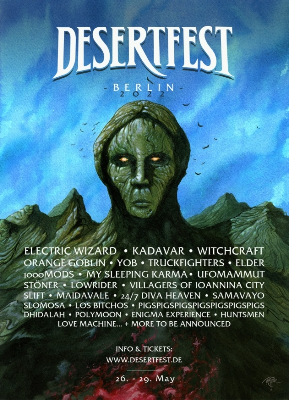 Desertfest Berlin Announces First 25 Band Names For 2022!